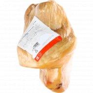 Продукт из свинины «Голяшка домашняя Люкс» копчено-вареный, 1 кг.