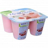Продукт йогуртный «Нежный» c соком клубники 1.2%, 100 г.