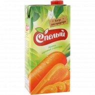 Нектар «Спелый» морковный, с мякотью, 1 л
