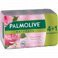 Туалетное мыло «Palmolive» ощущение нежности, 5х70 г.