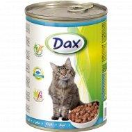 Корм для кошек «DAX» с рыбой, 415 г.