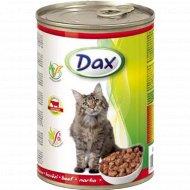 Корм для кошек «Dах» с говядиной, 415 г.