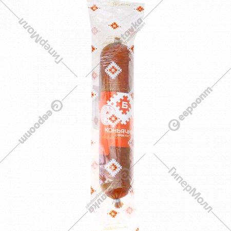 Колбаса варёно-копчёная «Сервелат Коньячный» 1 кг.