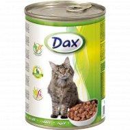 Корм для кошек «Dах» с кроликом, 415 г