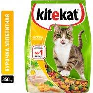 Корм для кошек «Kitekat» курочка аппетитная, 350 г.