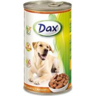 Корм для собак «Dax» кусочки с птицей, 1.24 кг.