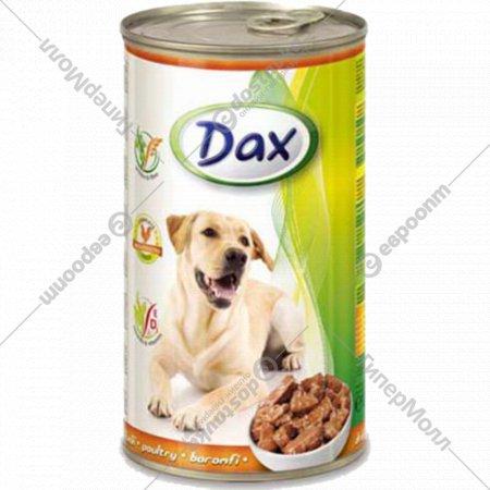 Корм для собак «Dax» кусочки с птицей 1.24 кг.