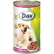 Корм для собак «Dax» кусочки с телятиной, 1.24 кг.