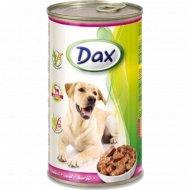 Корм для собак «Dax» кусочки с телятиной 1.24 кг.