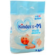 Детский порошок «Kinders-M» Weib для белого, автомат 3 кг.