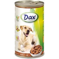 Корм для собак «Dax» кусочки с печенью 1.24 кг.