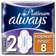 Ультратонкие прокладки «Always» platinum ultra normal plus, 8 шт.