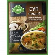 Суп грибной с вермишелью и зеленым луком 70 г.