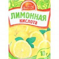 Кислота «Русский аппетит» лимонная пищевая, 10 г.