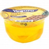 Желе из молочной сыворотки «Yoguru» ананас, 150 г.