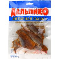 Янтарная рыбка солено-сушеная