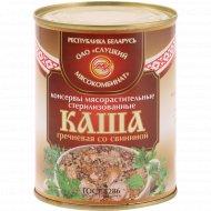 Консервы «Каша гречневая» со свининой, 340 г.