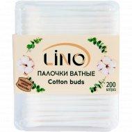Ватные палочки «Lino» 200 шт.