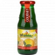 Сок грейпфруктовый «Pfanner» восстановленный пастеризованный, 200 мл.
