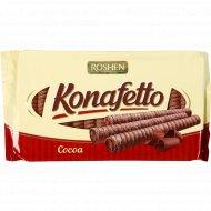 Вафельные трубочки «Konafetto Cocoa» с начинкой крем-какао, 156 г.