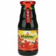 Сок «Pfanner» томатный с мякотью с солью, 200 мл.