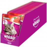 Корм для кошек «Whiskas» Мясной паштет из говядины с печенью, 24 x 85 г