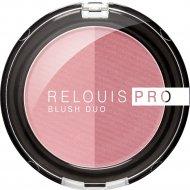 Румяна компактные «Relouis» Pro Blush Duo, тон 202, 5 г.