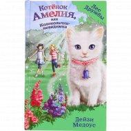 Книга «Котенок Амелия, или Колокольчик-Невидимка» Д.Медоус.