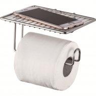 Держатель туалетной бумаги «Ledeme» с полкой.