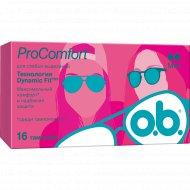 Гигиенические тампоны «o.b.» ProComfort, 16 шт.