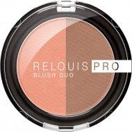 Румяна компактные «Relouis» Pro Blush Duo, тон 203, 5 г.