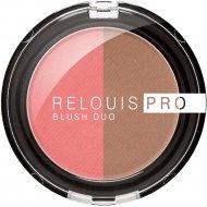 Румяна компактные «Relouis» Pro Blush Duo, тон 204, 5 г.