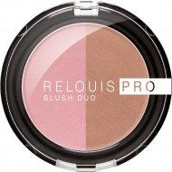 Румяна компактные «Relouis» Pro Blush Duo, тон 205, 5 г.