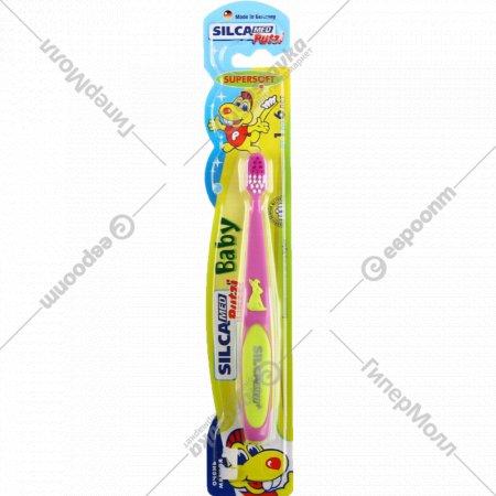 Детская зубная щетка «Silca» Putzi baby, очень мягкая, 1 шт.