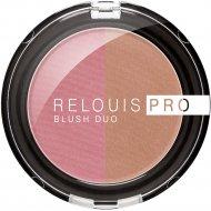 Румяна компактные «Relouis» Pro Blush Duo, тон 206, 5 г.
