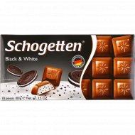 Шоколад молочный «Schogetten» Black&White, 100 г.