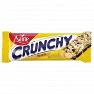 Батончик мюсли «CRUNHCY» с бананом в шоколаде, 40 г.