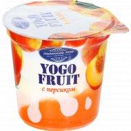 Йогурт «Yogo-Fruit» персик, 2.5%, 150 г.