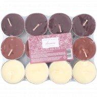 Свечи чайные «Hogge Home» ароматизированные, 12 шт