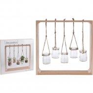 Украшение декоративное «Belbohemia» Кашпо подвесное, 5 шт
