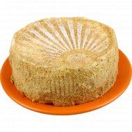 Торт «Медово-заварной» 1 кг., фасовка 1-1.2 кг