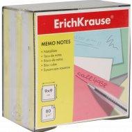 Бумага настольная «Erich Krause» 2 цвета, 90х90х50 мм.