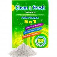 Порошок для посудомоечных машин «Clean&Fresh» 1000 г.