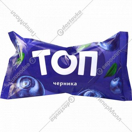 Мороженое «Топ» с черничным вареньем, 70 г.