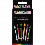 Свечи для торта «Party day» 6 шт.