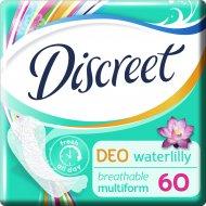 Гигиенические прокладки «Discreet» Deo Water Lily Multiform Trio, 60шт