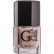 Лак для ногтей «Like Gel» тон 06, песочный бисквит, 6 мл.