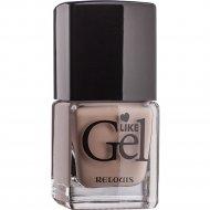 Лак для ногтей «Like Gel» тон 07, итальянский капучино, 6 мл.