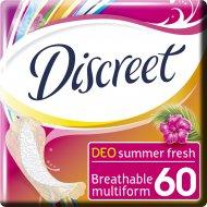Гигиенические прокладки «Discreet» Deo Summer Fresh Multiform, 60 шт.