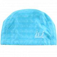 Шапочка для плавания «Zez» PU-3D, Голубой